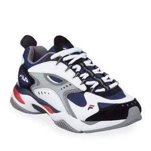Men's Boveasorus Mixed Media Colorblock Sneakers
